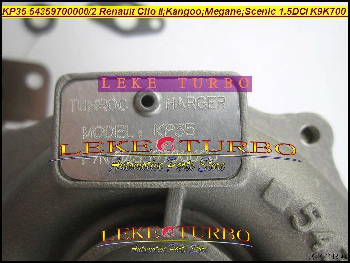 KP35 54359880000 54359880002 turbo for Renault Clio II Hatchback Kangoo Megane Scenic 1.5L DCI K9K700 K9K K9K710 TURBO (5)