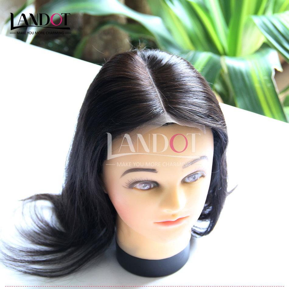 """Indien Droit Vierge Cheveux Dentelle Fermeture Libre Moyen 3 Voies Partie Fermeture De Cheveux Humains Soyeux Droit Remy Cheveux Fermetures 4x4 """"Taille Noir Naturel"""