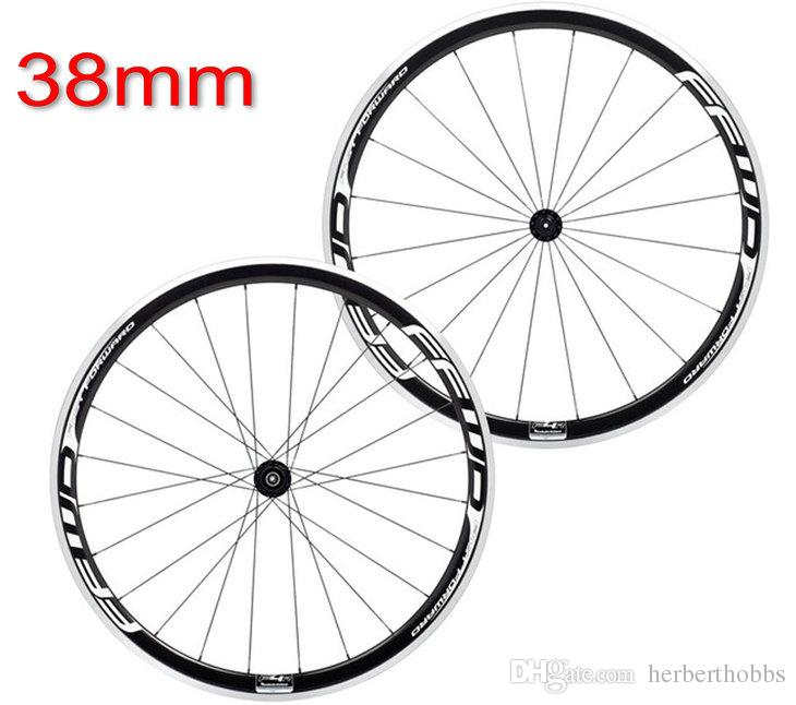 Super Light Wheel Fit 11s Speed Ffwd Aluminum Wheels 38mm Bicycle Wheels Carbon Fiber Road Wheelset