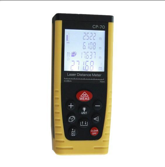 80M Laser-Entfernungsmesser Hohe Genauigkeit Abstandsmesser mit Batterie Tragbar