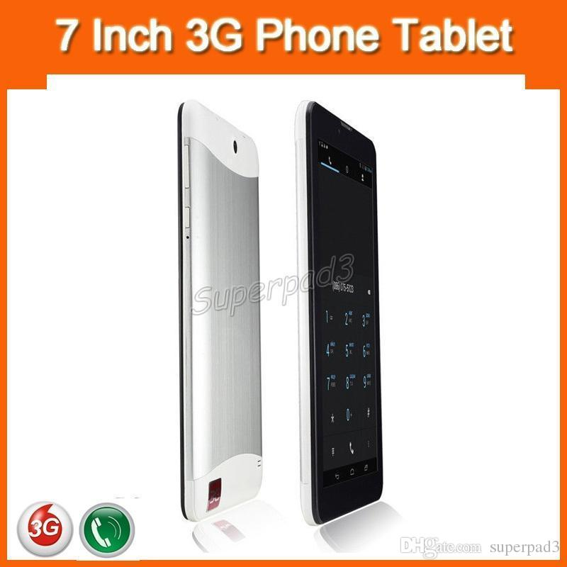 Cheap 3G Phablets 7 Inch Mini Tablets MTK6572 Dual Core 1.2GHz Android 4.2 4GB ROM 1024*600 HD GSM WCDMA Tablet PC