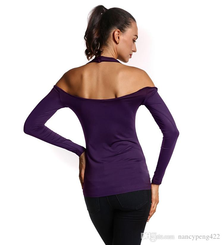 Purple tops for women sexy