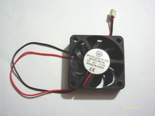Ventilador de refrigeración sin escobillas de 1pcs 24V 5010s 50mmx50mmx10mm