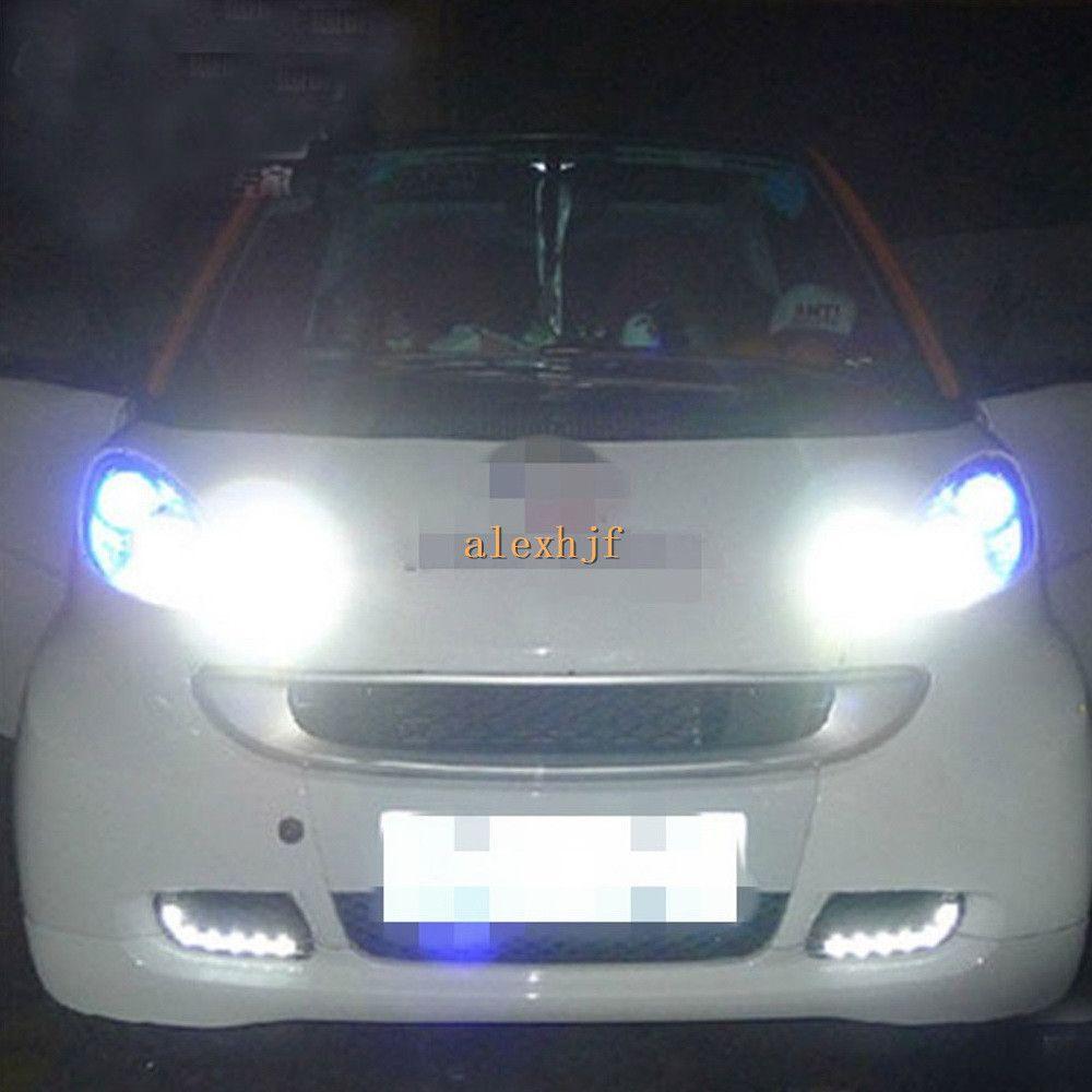Luci correnti diurne di giorno eccellenti del circuito integrato del LED di Osram LED, lampada di nebbia anteriore del faro del LED per 2008 ~ 2011 sostituzione fortwo 1: 1, trasporto libero