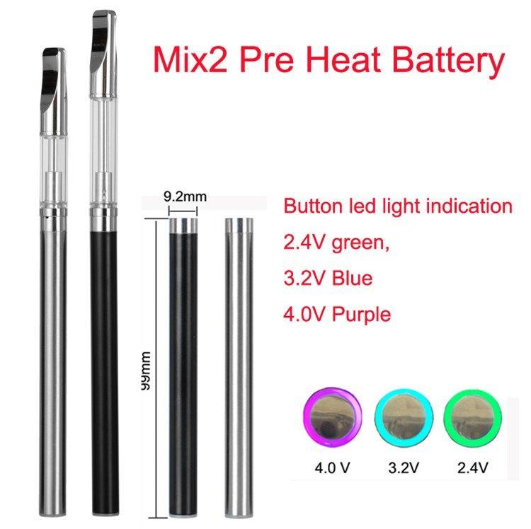 Original Touch Battery Mix2 E Cigarette Vape Pen Variable Voltage Battery  For Wax Oil Pens Vs O Pen Vape Bud Touch Battery How To Clean E Cig Battery