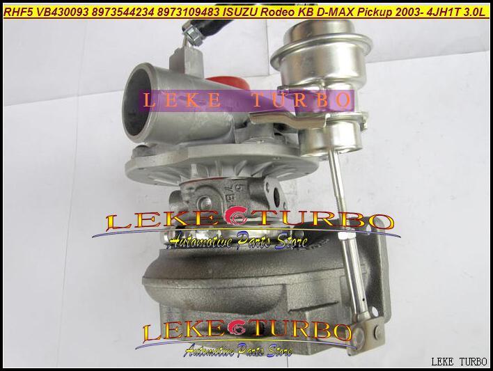 RHF5 VB430093 8973544234 8973109483 ISUZU Rodeo KB D-MAX Pickup 2003- 4JH1T 3.0L 130HP turbocharger (3)