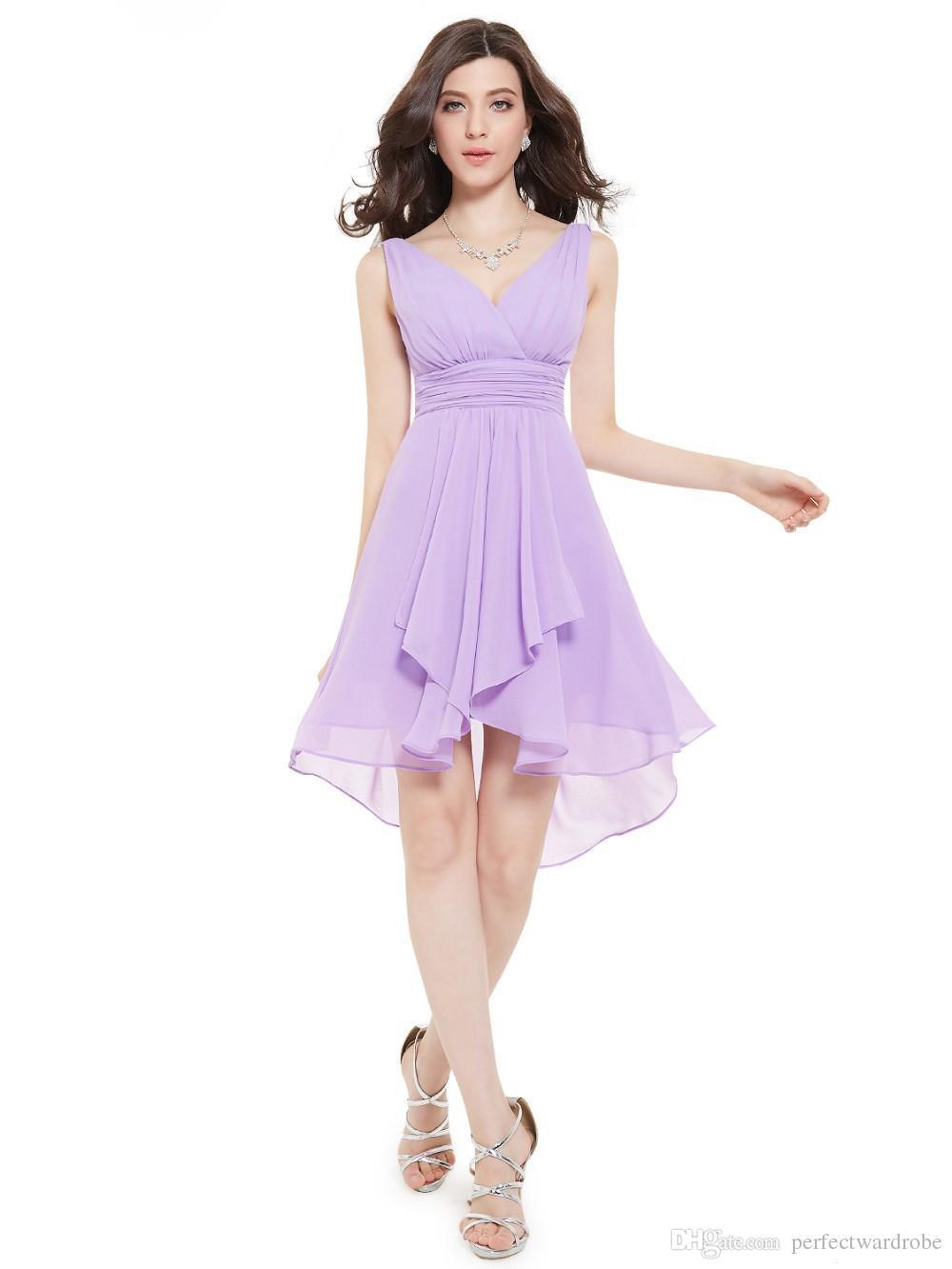 Venta al por mayor 2016 nueva turquesa corto vestidos de dama de ...