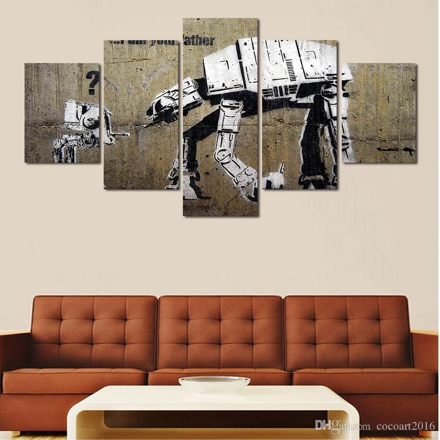 Paintings For Living Room Wall Paintings Wholesaler Cocoart2016 Sells 5 Panels Artwork Canvas