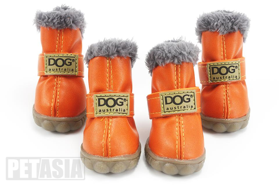 PETASIA Pet Dog Shoes Winter 4pcs set Small Medium Dogs Boots Cotton Waterproof Anti Slip XS XL Shoes for Pet Product ChiHuaHua select_960px colors orange 2