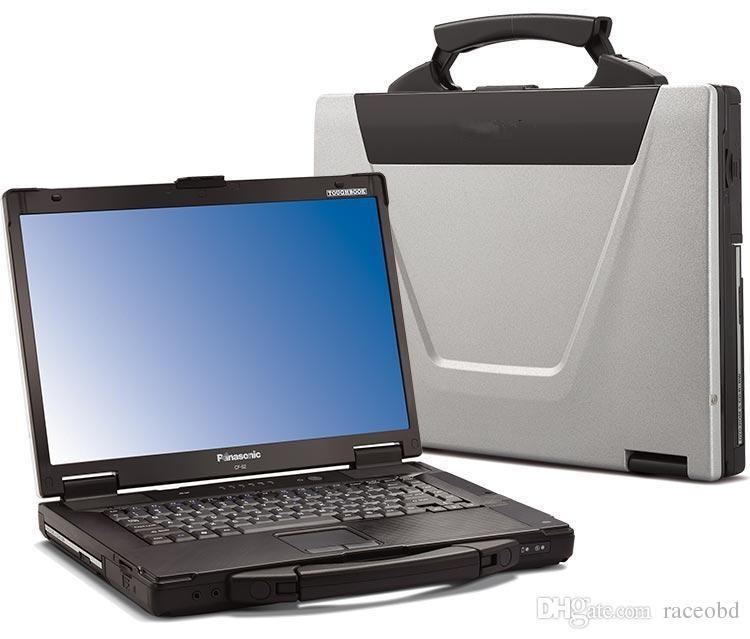 CF52 Panasonic Toughbook CF-52 Outil de diagnostic de voiture d'occasion Portable écran tactile RAM 4G sans Works HDD MB STAR C4 C5 pour BMW ICOM