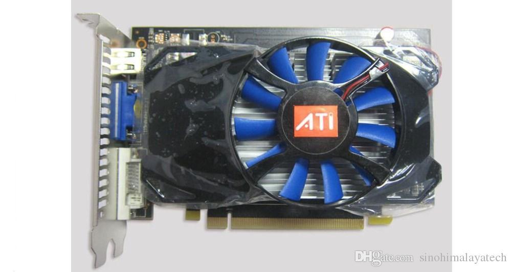 Brandneue Hiya AMD Radeon HD7750 1G DDR5 128bit DirectX12 Grafikkarten-Grafikkarte mit HD-MI, VGA, DVI-I, Ausgabeschnittstelle