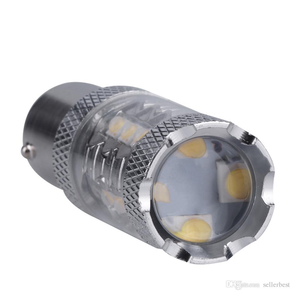 Lumières de voiture, 1x Super Bright White 80W 16 LED SMD 1156 Ba15s S25 P21W CREE Sauvegarde Reverse Light Bulb style de voiture