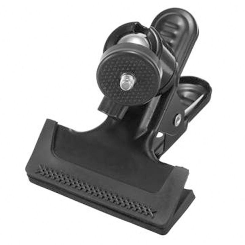 Mini tripod ball head car clamp for camera flash photo studio
