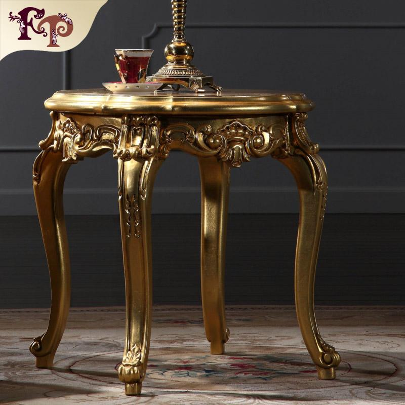 Italian high end living room furniture - Baroque Style classic coffee table - French royalty style furniture