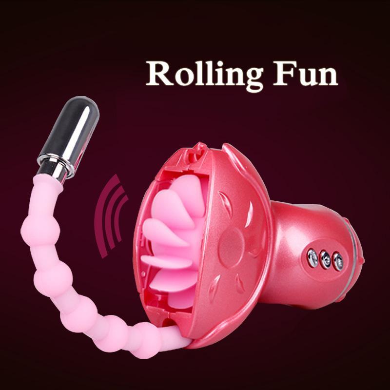 Baile Rolling Fun оральный секс игрушки для женщин, Роллинг язык G Spot вибратор анальный стимулятор секс игрушки для женщин, взрослые продукты секса 0701