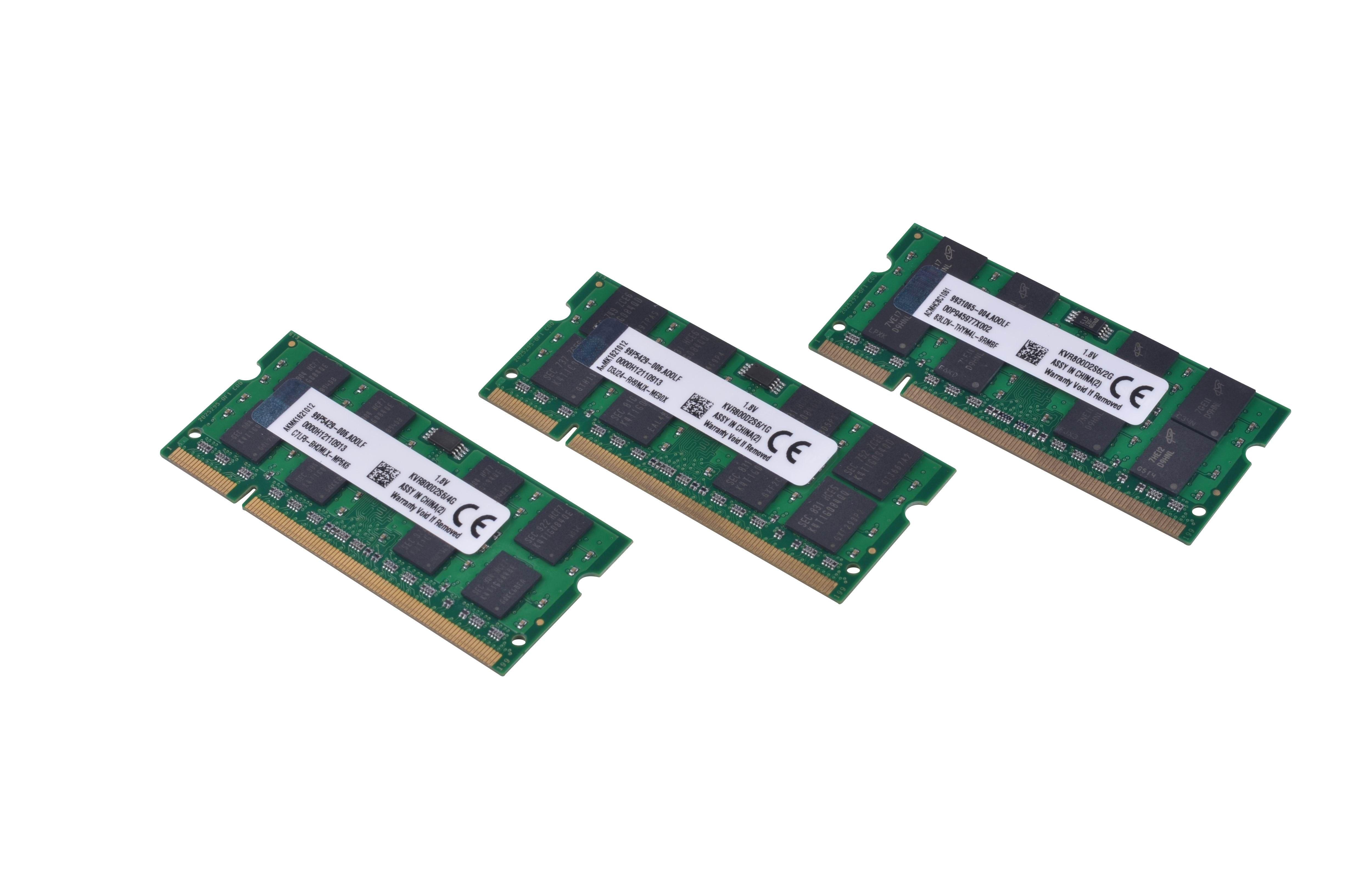 2018 New 1gb Pc2 6400 Ddr2 800 Mhz 200pin Sodimm Laptop Memory Ram 2gb Pc6400 200 Pin So Dimm Module From Kingmemorycompany 567 Dhgatecom