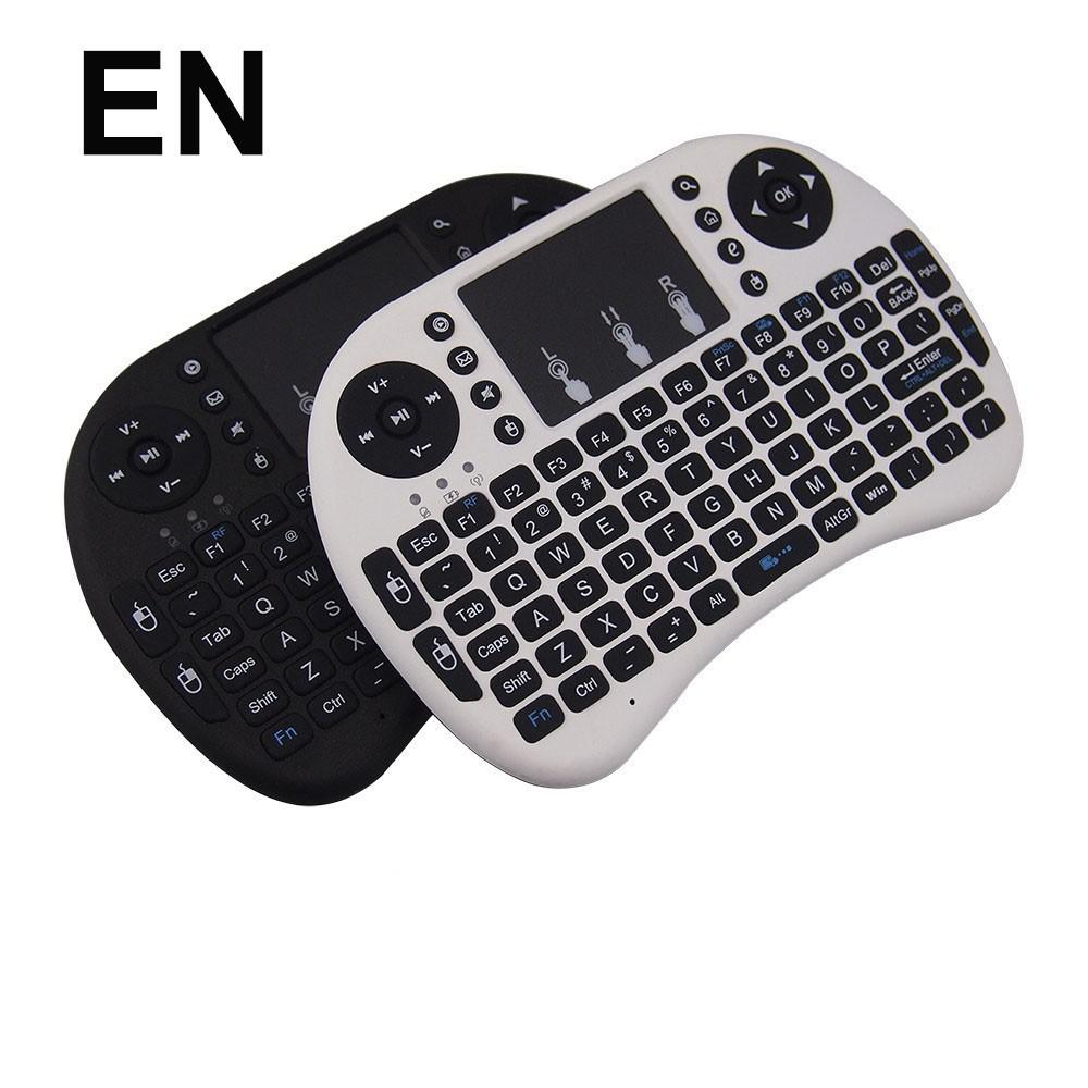 Hot Rii I8 Wireless Mini Keyboard Gaming Air Fly Mouse & R6 Airmouse for Smart TV Android TV Box PS4 XBox Tablet PC