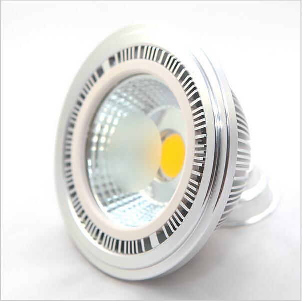 도매 공장 가격 디 밍이 가능한 COB 15W LED AR111 빛 GU10 G53 85-265V 높은 루멘 Bridgelux 높은 전력 QR111 ES111 LED 램프