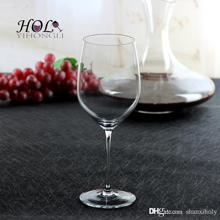 Copo de vinho de chumbo Santo livre de chumbo high-end personalizado