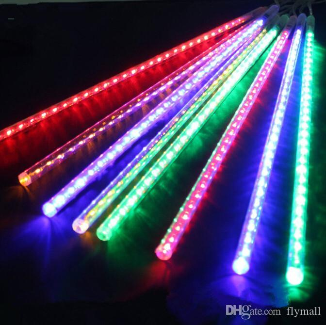 40pcs(5sets) 30cm/50cm Waterproof Meteor Shower Rain Tubes LED Light for Party Wedding Decoration Christmas Holiday LED Meteor Light