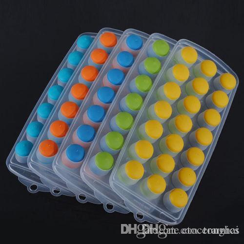 Atacado Silicone Ice Ball Cube Bandeja Congelar Mold Bar Geléia Fabricante De Moldes De Chocolate H210272