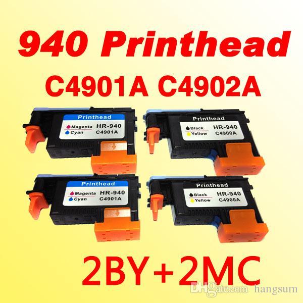 4X رأس الطباعة C4900A C4901A تتلاءم مع hp940 للحصان 940 OFFICEJET برو 8000 8500 8500A طابعة