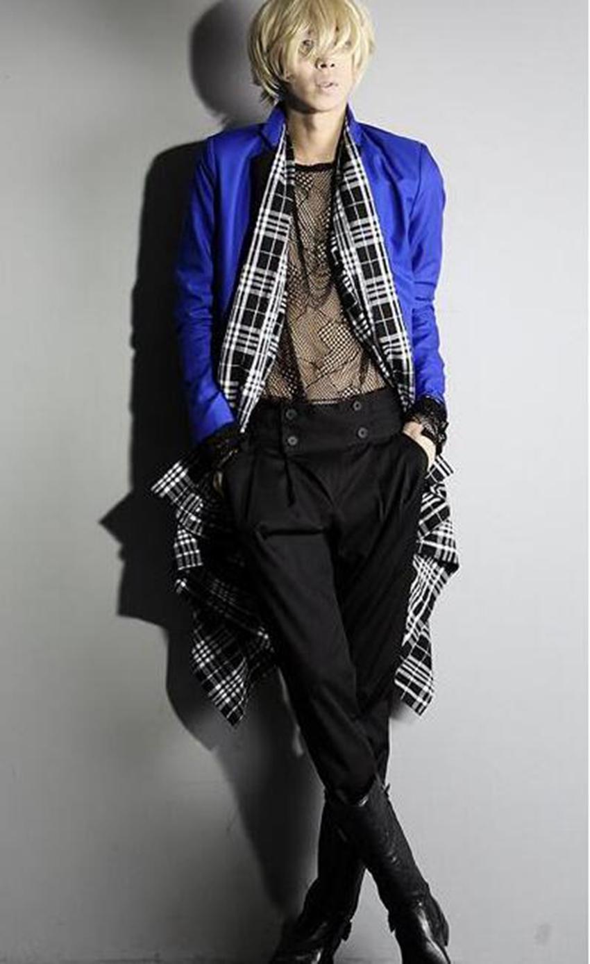 남자는 봄과 가을에 패션의 하나의 도덕성을 연출하는 새로운 추세 harlan bootcut 똑 바른 바지 / 관례
