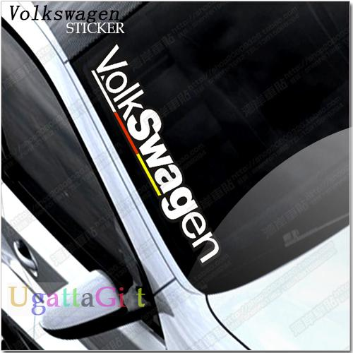 Free shipping hf car stickers hellaflush car sticker volkswagen vw mkv r32 scirocco front rise volkswagen