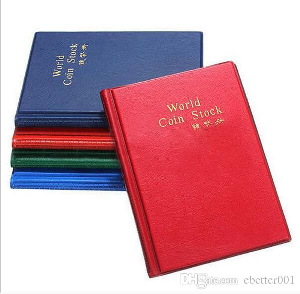 Coin Album 120 Money Penny Pockets 120 Coin Holders Collection Storage Album Book