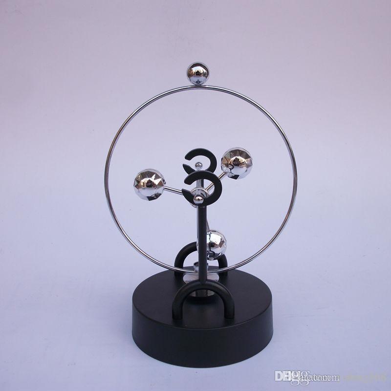 A ciência física e a terra rotacionam o modelo perpétuo do analisador do balanço a trilha magnética celestial ornaments o furniture da decoração da casa