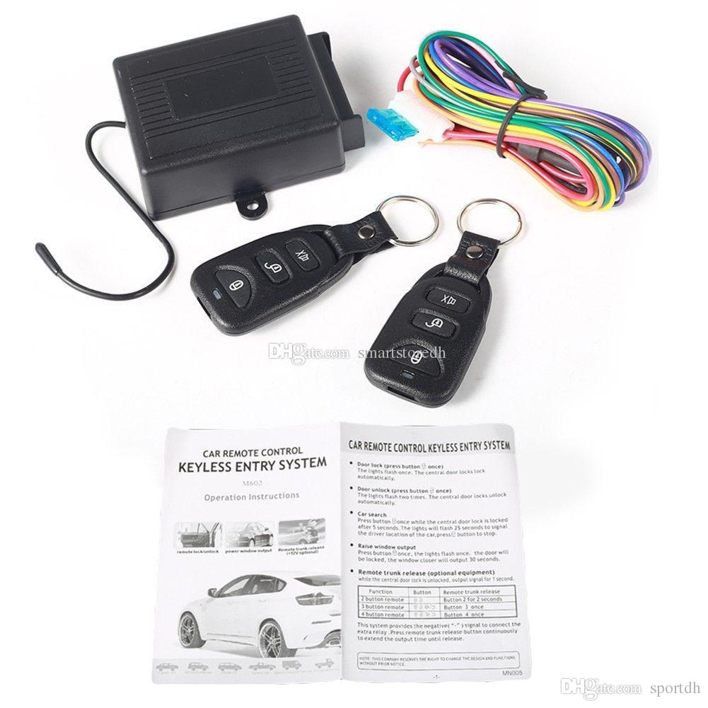 2019 Universal Car Central Door Locking Keyless Entry System 2