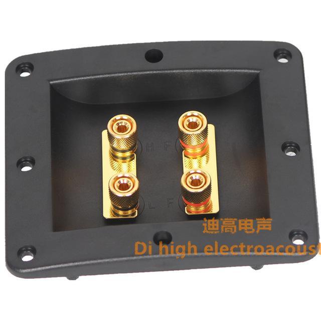 Altavoz de audio de la caja de conexión terminal de la pieza de conexión 500 ternminal abs material engrosamiento / Envío gratis