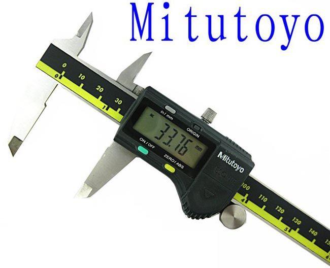 Цифровые штангенциркули mitutoyo 0-150 мм Цифровой штангенциркуль точность 0.01 мм digimatic штангенциркули измерения тестеры 500-196