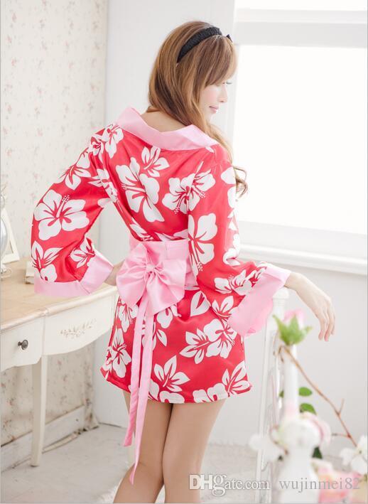 sexy Kimono Kleid