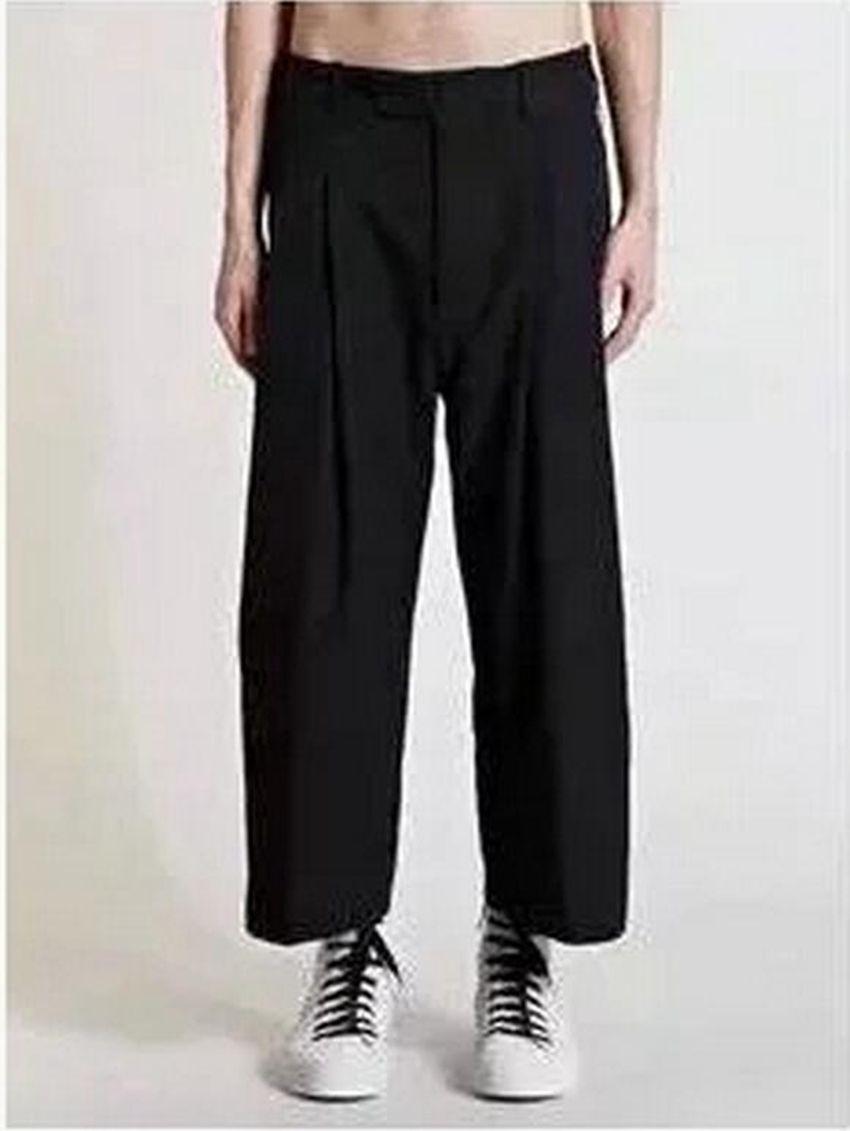 Moda primavera uomo la nuova tendenza di coltivare la propria personalità moralità harlan kuo nove minuti di pantaloni gambe / personalizzato