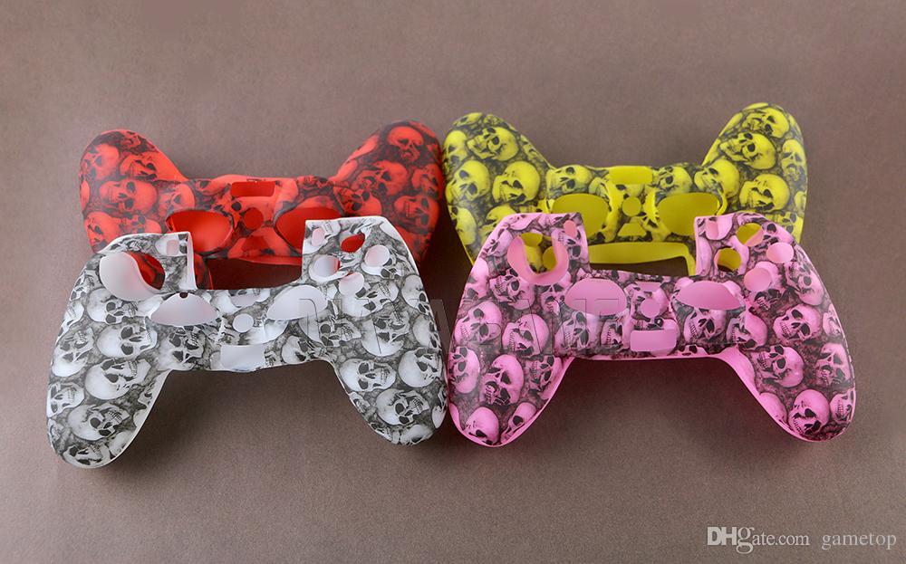 Rutschfeste Silikonhülle für PlayStation4 PS4 Pro Controller-Abdeckung für Dualshock 4 DS4 Slim Gamepad Shell