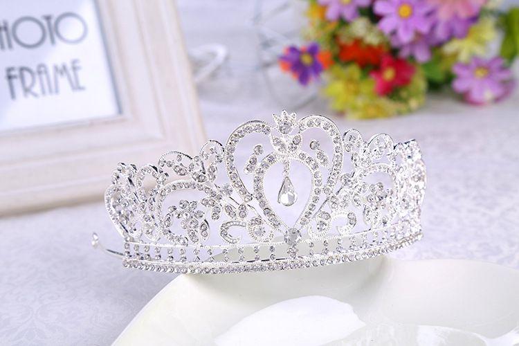 großhandel bling perlen kristalle hochzeit kronen 2019 braut diamant schmuck strass stirnband haar crown zubehör party tiara günstige kostenloser audi zubehoer schmuck zubehor c 33 #5