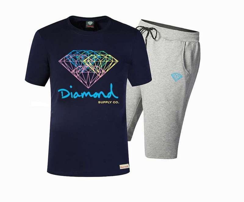 588 Eşofman Tişört ve pantolon yüksek elastik pamuk suit erkek kısa kollu Eşofman ücretsiz kargo S-5XL