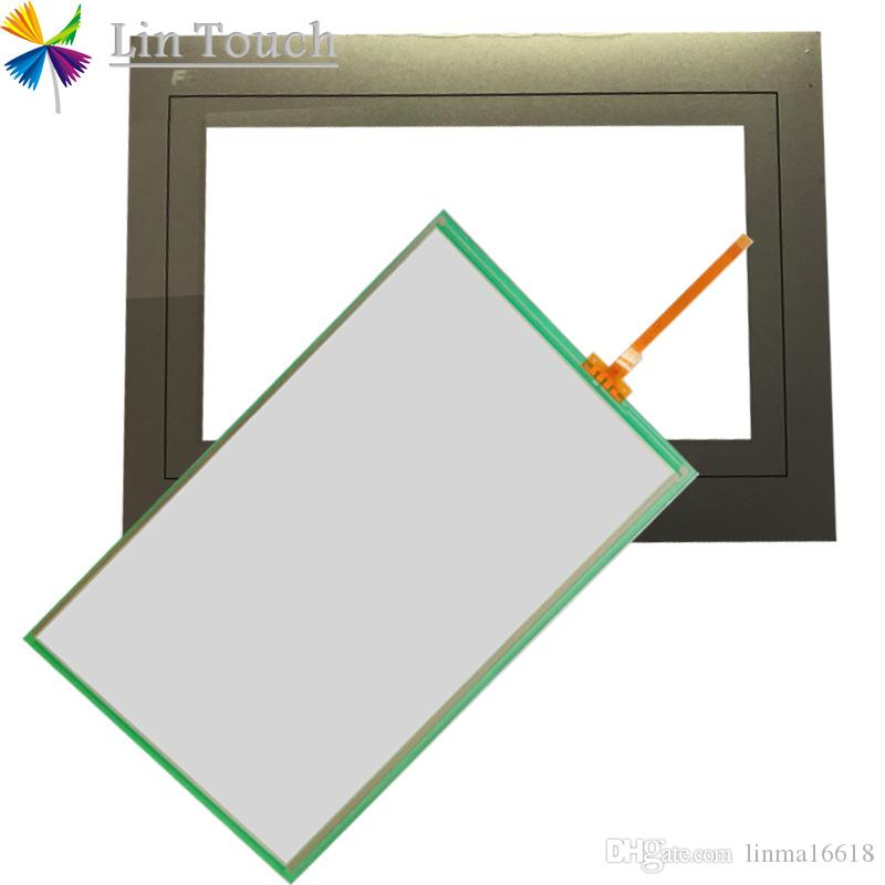 NEUE TS1070 TS1070i HMI PLC TouchScreen UND Front-Label Film Touchscreen und Frontlabel