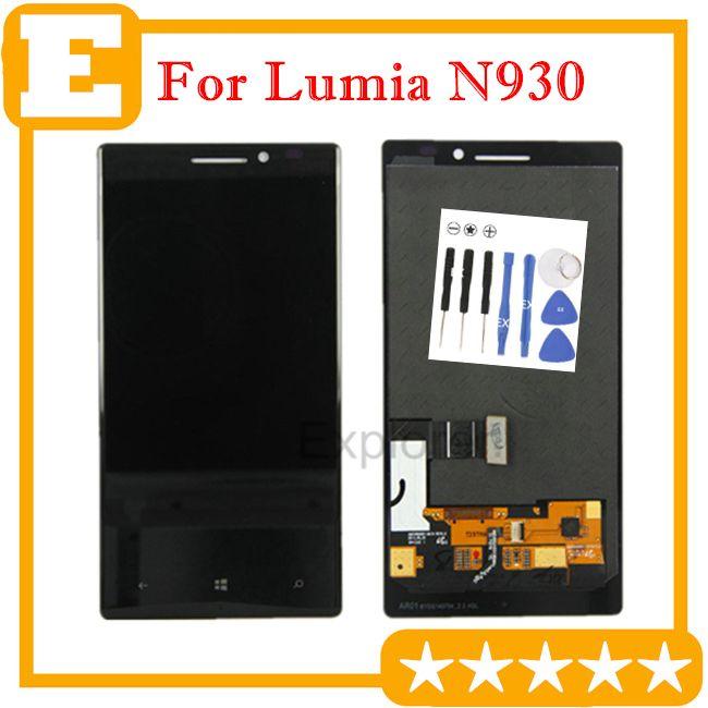 1PCS / لوط الأصلي جديد لنوكيا Lumia 930 N930 شاشة LCD + شاشة تعمل باللمس محول الأرقام الجمعية زجاج استبدال عدسة أدوات الجزء مجانية
