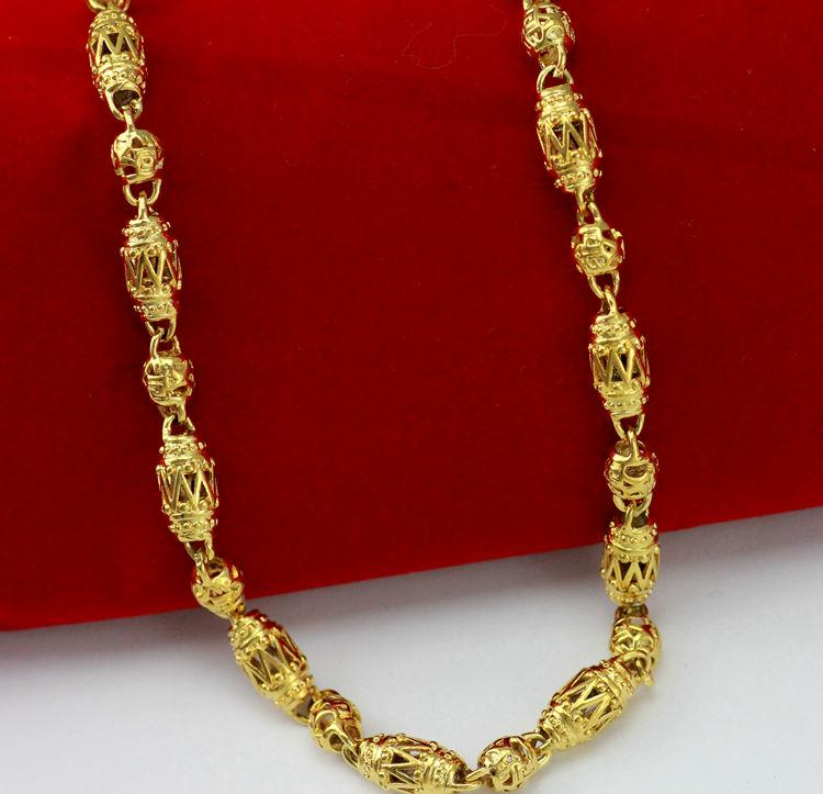 2020 Fast Jewelry 18k Hollow Yellow Dmen Gold Necklace Italian 6mm Miami Cuban Curb Link Chain Necklace Mens Necklace From Jewelryworld1986 10 25 Dhgate Com