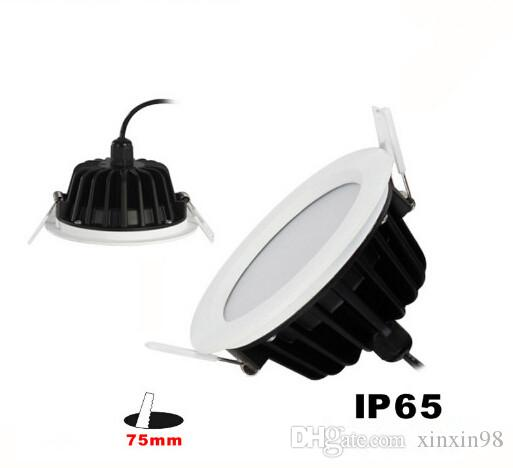 12 W Impermeabile IP65 Bianco Caldo / Bianco / Bianco Freddo LED da incasso da incasso a LED Soffitto Giù Lampada Della Luce 2800-7000 K AC85-265V