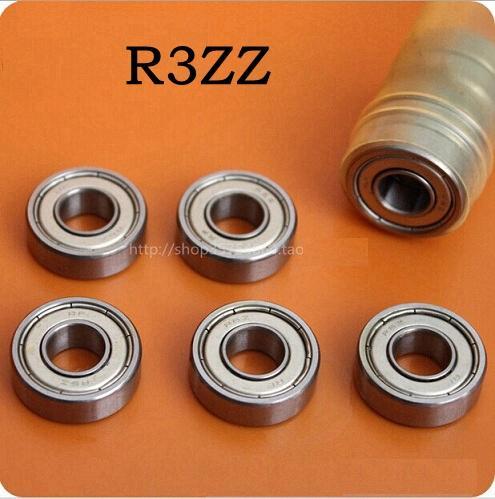 100pcs R3ZZ R3-2Z 차폐 된 베어링 3/16 x 1/2 x 0.196 인치 미니어처 볼 베어링 4.762 * 12.7 * 4.98 mm