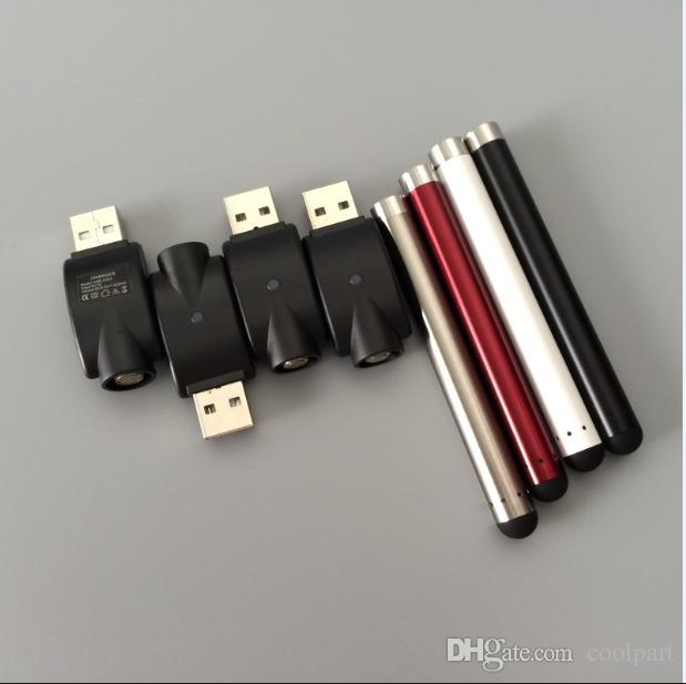 Batteria a 510 fili senza pulsante vape bud touch batteria stylus ecig 280 mAh auto O penna per atomizzatore a olio denso