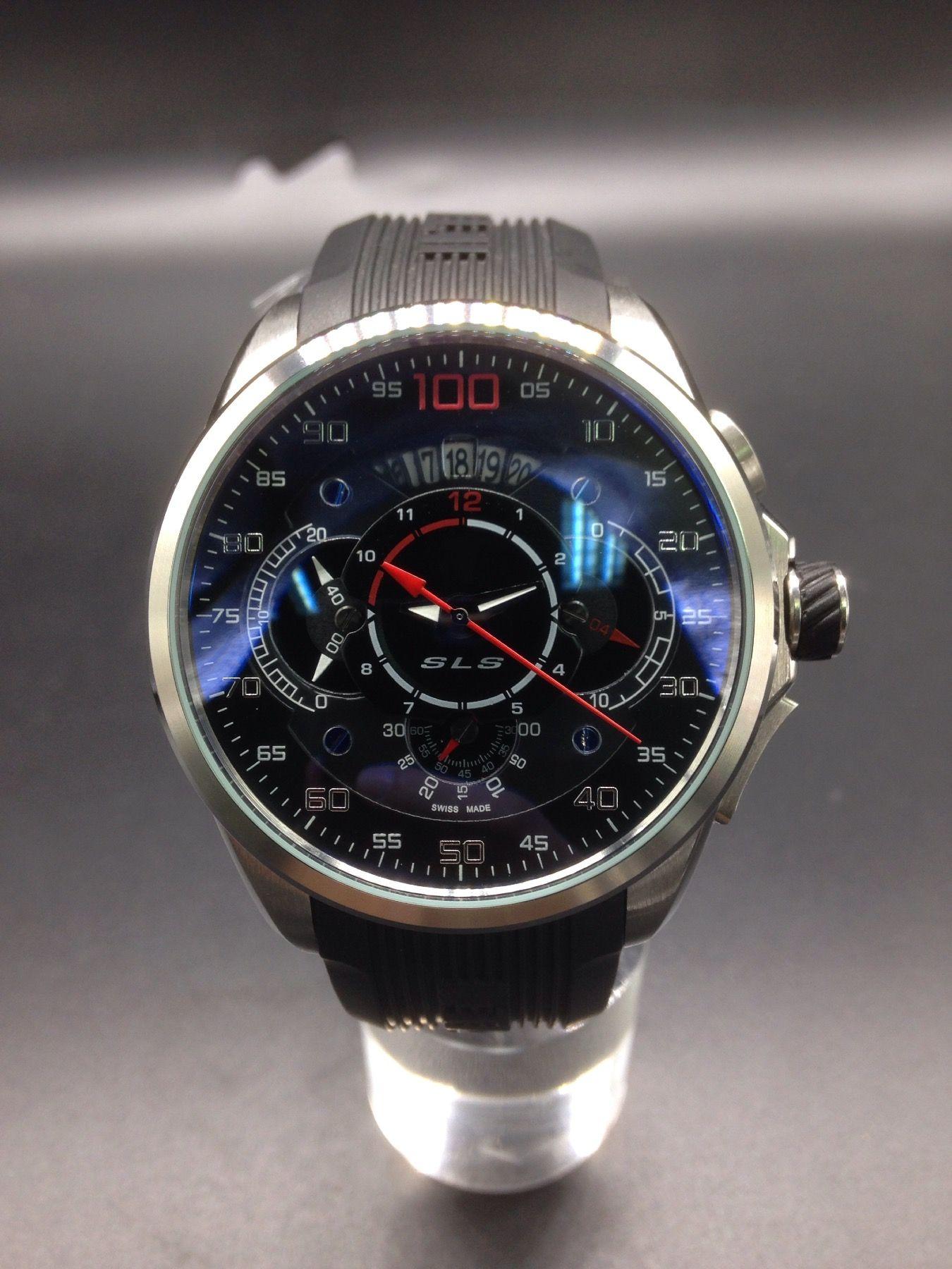 Luxo Limited flyback Edition Men Watch esporte quartzo cronógrafo vidro de safira alta qality pulseira de borracha Relógios