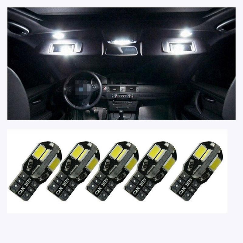 20PCS Canbus T10 W5W 168 194 8 LED 5630 5730 SMD 8smd 주차 조명 너비 램프 자동 쐐기 전구 자동차 면허 조명 12V