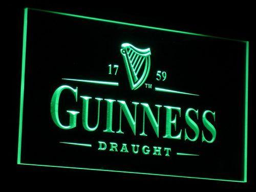 a002 غينيس خمر شعار البيرة فتح بار حانة نادي ضوء النيون علامات بالجملة دروبشيبينغ السفينة مجانية
