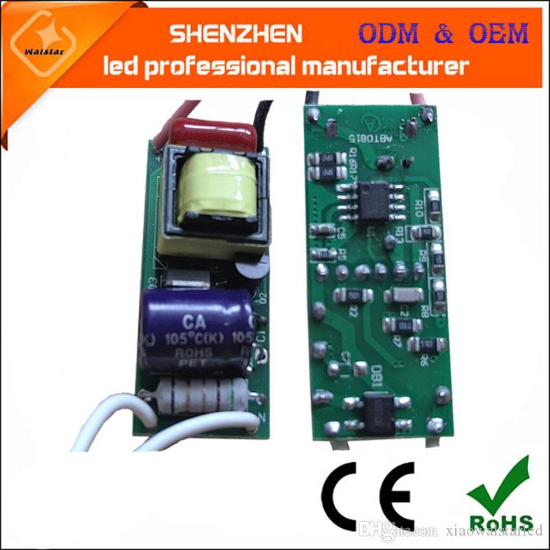 AC85-265V 50/60Hz (7-15)x1W 7w 8w 9w 10w 11w 12w 13w 14w 15w Dimmable LED Driver Lamp Power Supply Lighting Transformers