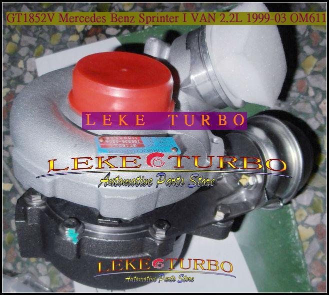 GT1852V 709836-0004 for Mercedes benz Sprinter 1999-03 2.2L OM611 turbocharger (11)