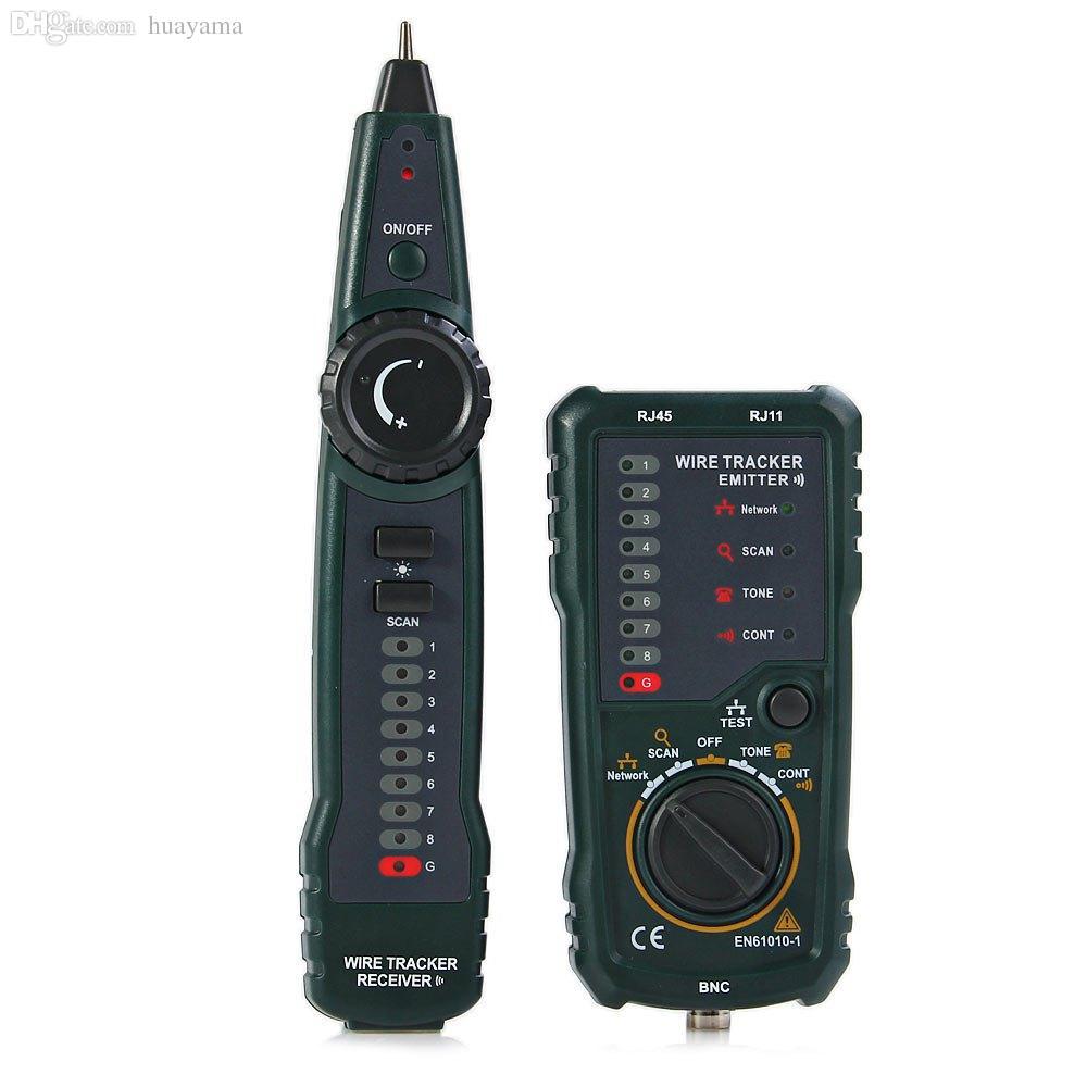 Großhandels-HYELEC MS6815 Multifunktions-Netzwerk LAN Ethernet Telefon Telefonkabel Toner Draht Tracker Handheld-Tracking-System Tester